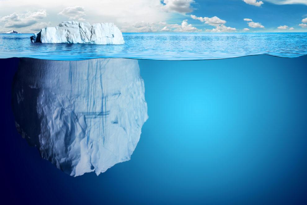 ことわざ「氷山の一角」の意味と...